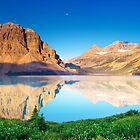 Bow Lake by David Geoffrey Gosling (Dave Gosling)