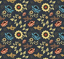 Oriental style pattern by alithe