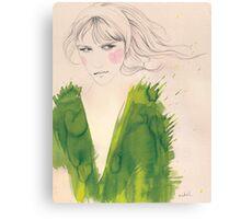 green wednesday Canvas Print