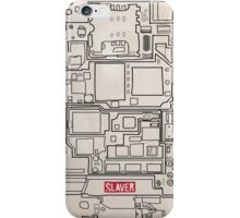 SLAVER circuit board iPhone Case/Skin