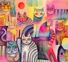 Cats galore by Karin Zeller