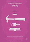 No258 My DRIVE minimal movie poster by Chungkong