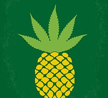 No264 My PINEAPPLE EXPRESS minimal movie poster by Chungkong
