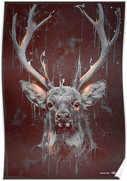 DARK DEER by ptitecaostore