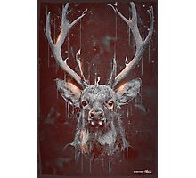 DARK DEER Photographic Print