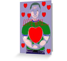LOVE YOU 6 Greeting Card