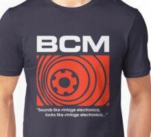 Bedroom Cassette Masters Big Logo & Strapline (white) Unisex T-Shirt