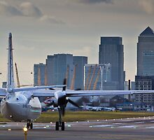 London City Airport by DavidHornchurch