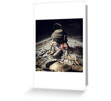 Tribal Tea Greeting Card
