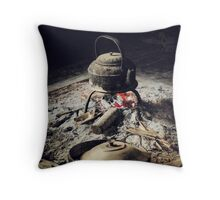Tribal Tea Throw Pillow