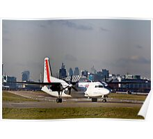 London City Airport Poster