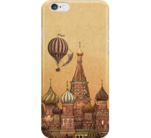 Trip to Moscow  iPhone Case/Skin