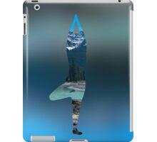 Tree Pose on a Mountain iPad Case/Skin