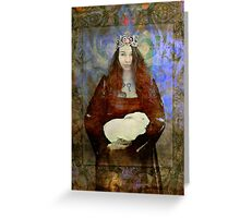 Easter Queen Greeting Card