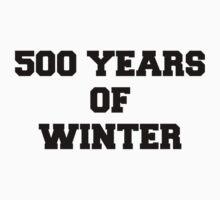 500 Years of Winter Print by missylayner