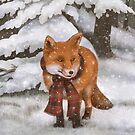Winter Fox by Terry  Fan