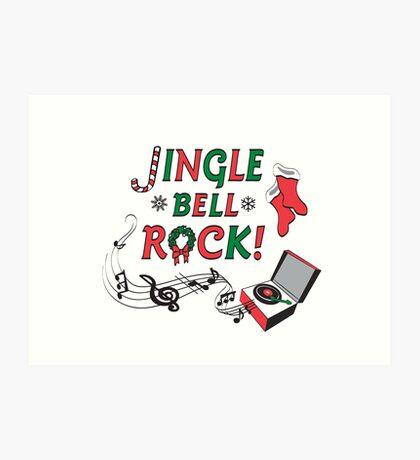 Jingle Bell Rock Art Print