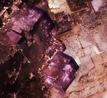 Asteroid City (Fluorite) by Stephanie Bateman-Graham