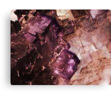 Asteroid City (Fluorite) Canvas Print