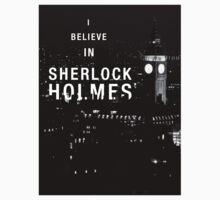 I Believe in Sherlock Holmes One Piece - Short Sleeve