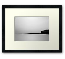 A Minimum of Fuss Framed Print