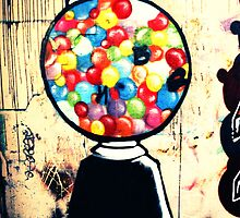 Gum Ball Machine by emilyhornum