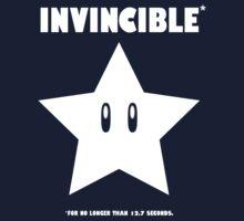 Invincible* (white) Kids Tee
