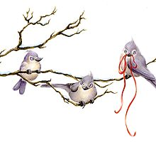 3 Birds by desarae