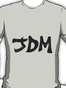 JDM plain graffiti - Black T-Shirt
