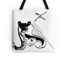Scary Bear Tote Bag