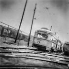 Vintage Streetcar Trolley 1232 by YoPedro
