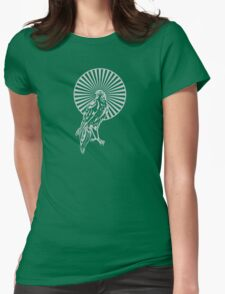 Silver Hawk Womens Fitted T-Shirt