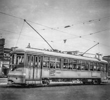 Vintage Streetcar Trolley 1868 by YoPedro
