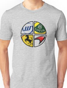 F1 - 4 Legends Unisex T-Shirt