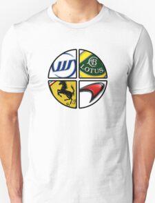 F1 - 4 Legends T-Shirt