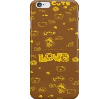 Cute to Boot! iPhone Case/Skin