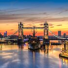 Tower bridge sunrise by Andrew-Thomas