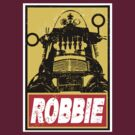OBEY ROBBIE THE ROBOT  by karmadesigner