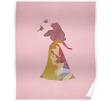 Aurora - Sleeping Beauty - Disney Inspired Poster
