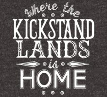 Where the Kickstand Lands is Home - As the Magpie Flies by Amanda Zito