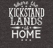 Where the Kickstand Lands is Home - As the Magpie Flies Unisex T-Shirt