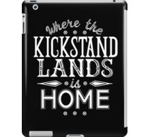 Where the Kickstand Lands is Home - As the Magpie Flies iPad Case/Skin