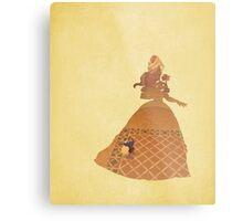 Belle - Beauty & The Beast - Disney Inspired Metal Print