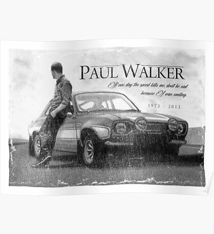 Paul Walker Poster