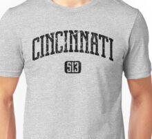 Cincinnati 513 (Black Print) Unisex T-Shirt