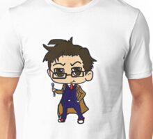 Chibi Tenth Doctor Unisex T-Shirt