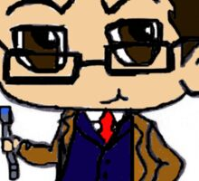 Chibi Tenth Doctor Sticker