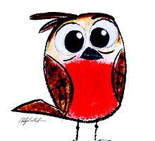 Wee Apprehensive Bird by Philip  Vallentin