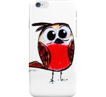 Wee Apprehensive Bird iPhone Case/Skin