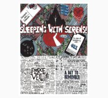 T-Shirts, Hoodies & Stickers Sleeping with sirens, A day to remember & Pierce the veil by DIMIART